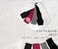 韩国 冬天带花露指手套/袖套可爱女长款半指手套季