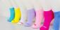优质棉袜 7日纯色女袜星期袜 船袜 每周不一样的韩版可爱心情袜