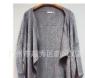 新款!韩版披肩式针织衫长款蝙蝠袖针织衫